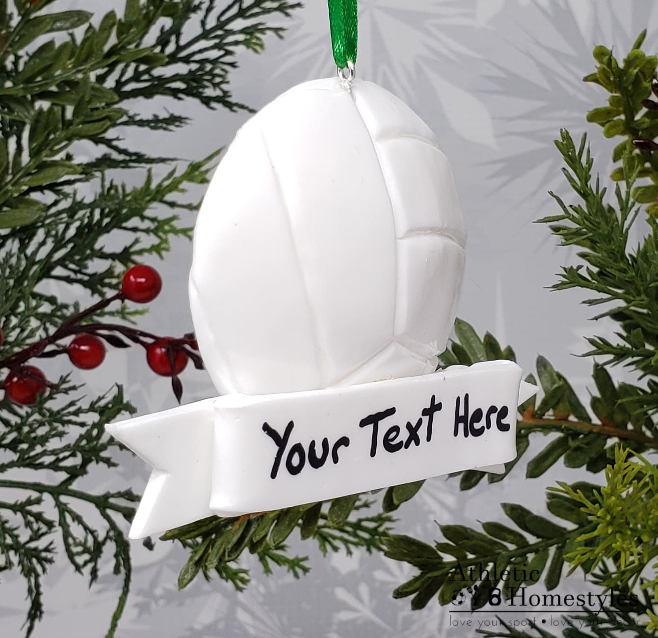Volleyball Christmas Ornament ball Decoration high school sports athlete gift